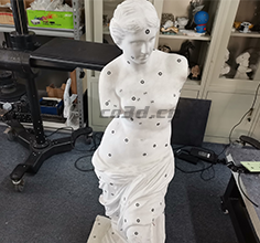 3D scan of Venus sculpture